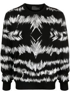 Philipp Plein пуловер с принтом тай-дай