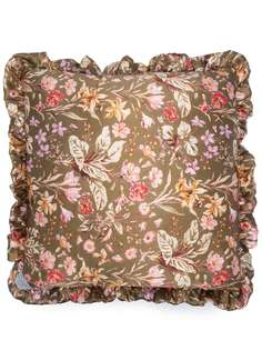 Preen By Thornton Bregazzi подушка с цветочным принтом и оборками