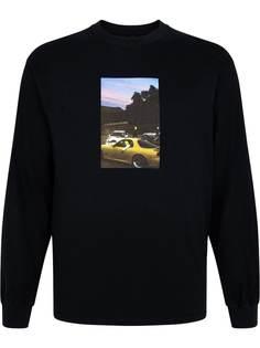 Travis Scott футболка Jackboys с длинными рукавами и фотопринтом
