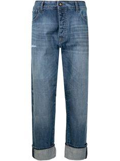 Emporio Armani укороченные джинсы широкого кроя