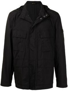 Barbour куртка с капюшоном и потайной застежкой
