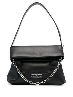 Karl Lagerfeld маленькая сумка-тоут из коллаборации с Amber Valletta