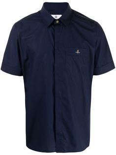 Vivienne Westwood рубашка с короткими рукавами и вышитым логотипом