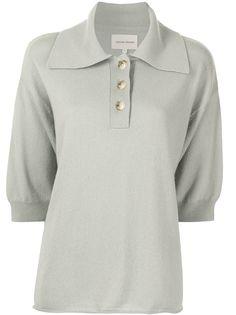 Loulou Studio кашемировая рубашка поло