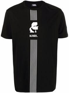 Karl Lagerfeld футболка с логотипом