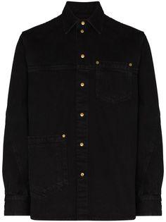 Tom Wood рубашка Colby с длинными рукавами
