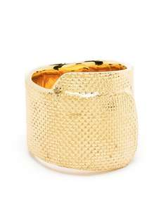 AMBUSH серебряное фактурное кольцо
