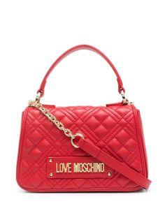 Love Moschino стеганая сумка через плечо из искусственной кожи