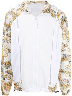 Versace Jeans Couture спортивная куртка с принтом Baroque