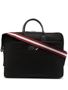 Bally сумка для ноутбука с логотипом