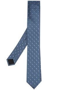 BOSS жаккардовый галстук