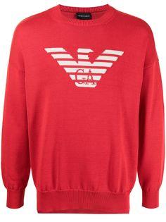 Emporio Armani свитер с логотипом