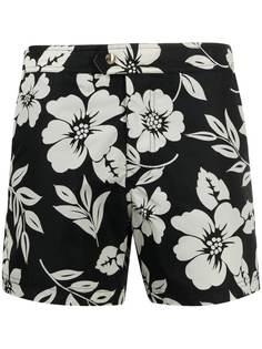 TOM FORD плавки-шорты с цветочным принтом