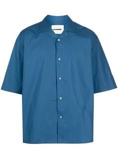 Jil Sander рубашка с короткими рукавами