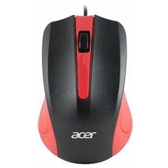 Мышь Acer OMW012, черный/красный