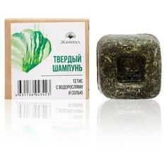 Живица твердый шампунь Тетис с водорослями и солью, 50 гр