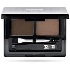 Pupa Набор для бровей Eyebrow Design Set 002 brown