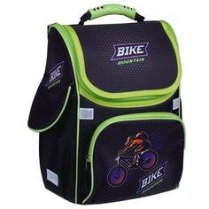 "ArtSpace Ранец Junior ""Bicycle"", синий/зеленый"
