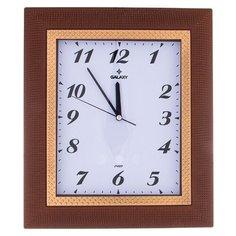 Часы настенные кварцевые GALAXY 207-423 коричневый