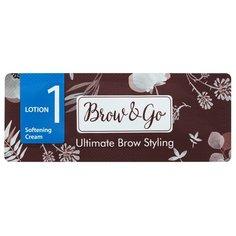 Brow&Go Состав для стайлинга бровей №1 Softening Cream