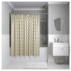 Штора для ванной комнаты Iddis B09P218i11 200х180 см полиэстер