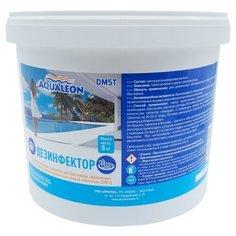 Aqualeon / Дезинфектор МСХ (медленный стаб. хлор в таблетках 200 г) 5 кг.