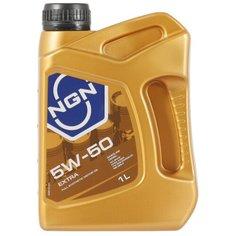 Синтетическое моторное масло NGN Extra 5W-50, 1 л