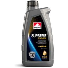 Синтетическое моторное масло Petro-Canada Supreme Synthetic 0W-16, 1 л