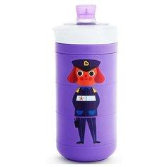 Поильник-непроливайка Munchkin Twisty, 296 мл фиолетовый