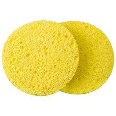 Набор спонжей Dewal Beauty CE-8510 2 шт. желтый