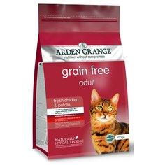 Сухой корм для кошек Arden Grange беззерновой, с курицей 400 г