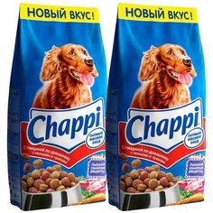 Сухой корм для собак Chappi говядина, с овощами, с травами 2 шт. х 15 кг