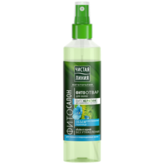 Чистая линия Спрей для волос Восстановление и объем, 160 мл