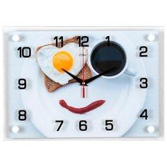 """Часы настенные """"Веселый завтрак"""", 2535-892 Рубин"""