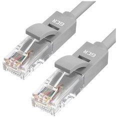 Патч-корд перекрестный GCR cat5е UTP CCA литой 1Гбит/c 100Hz, 1м экологичный ROHS PVC сетевой кабель патч корд для Ethernet cable роутер smart TV