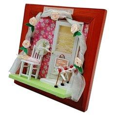 """Румбокс 13616 Настенная рамка-открытка """"DIY House """"Да здравствует любовь!"""" Hobby Day"""