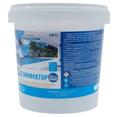 Aqualeon / Дезинфектор быстрый стабилизированный хлор в гранулах (ударный). 1кг.