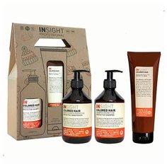 Insight Colored Hair - Набор для окрашенных волос (шампунь 400 мл + кондиционер 400 мл + маска 250 мл)