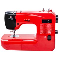 Швейная машина с электронным управлением Comfort 555, работа без педали, регулятор скорости, шитье двойной иглой