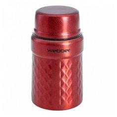 Термос пищевой 600 мл SSW-0600/1N красный Webber