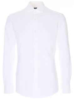 Рубашка Slim Fit хлопковая Hugo Boss