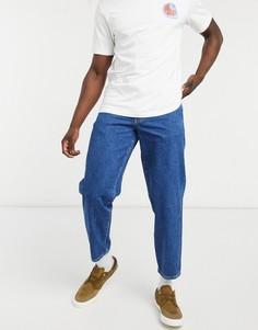 Синие суженные книзу джинсы с 5 карманами Stan Ray-Синий