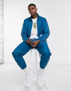 Тканая спортивная куртка синего цвета Puma Avenir-Синий
