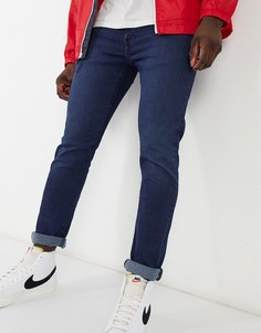 Синие выбеленные суженные книзу джинсы, окрашенные в шалфейный оттенок Levis 512-Синий Levis®