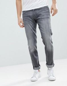 Серые джинсы слим Esprit-Серый