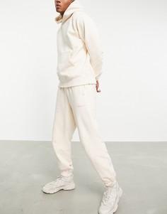 Джоггеры премиум-класса цвета экрю adidas Originals x Pharrell Williams-Белый
