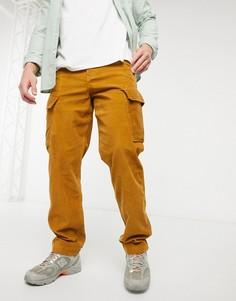 Зауженные к низу брюки-карго из плотного вельвета Levis XX в золотисто-бежевом цвете-Коричневый цвет Levis®
