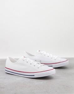 Белые кроссовки Converse Chuck Taylor Dainty-Белый