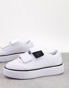 Бело-черные кроссовки Puma Oslo Maja Infuse-Белый
