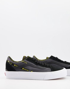 Черные кроссовки с технологией Gore-Tex Vans Old Skool-Черный цвет